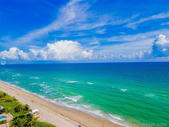 1985 S Ocean Dr 14G, Hallandale Beach, FL 33009 (MLS #A10948037) :: Prestige Realty Group