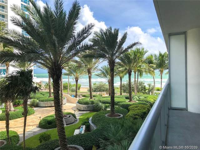 6799 Collins Ave #203, Miami Beach, FL 33141 (MLS #A10948069) :: Ray De Leon with One Sotheby's International Realty