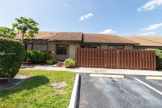 2594 N Nob Hill Rd #2594, Sunrise, FL 33322 (MLS #A10948077) :: Search Broward Real Estate Team at RE/MAX Unique Realty