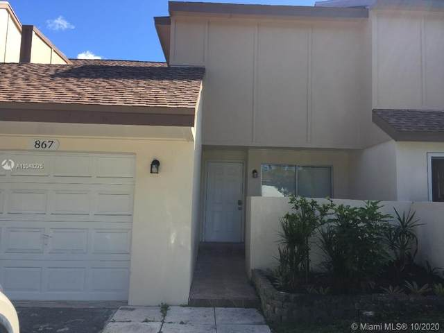 867 NW 80th Ter #5, Plantation, FL 33324 (MLS #A10948275) :: Equity Advisor Team