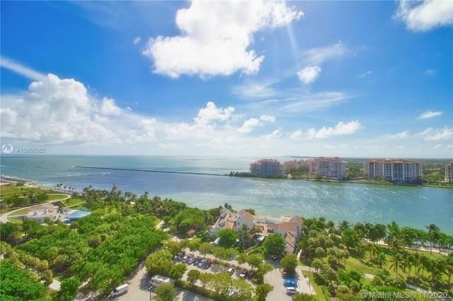 400 S Pointe Dr #1804, Miami Beach, FL 33139 (MLS #A10950562) :: Albert Garcia Team