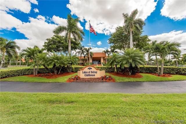 15054 Ashland Way #87, Delray Beach, FL 33484 (MLS #A10950725) :: Prestige Realty Group