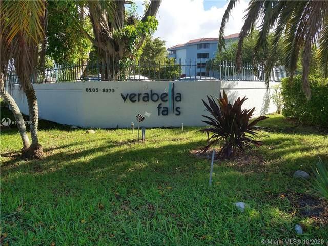 8275 SW 152nd Ave D-103, Miami, FL 33193 (MLS #A10950788) :: Patty Accorto Team