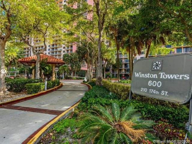 210 174th St #1009, Sunny Isles Beach, FL 33160 (MLS #A10951329) :: Ray De Leon with One Sotheby's International Realty