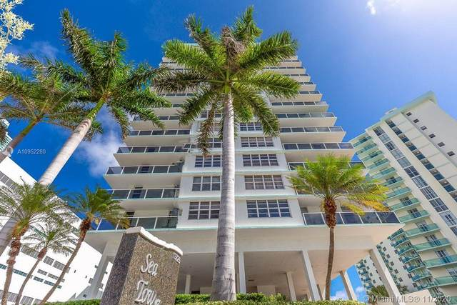 3725 S Ocean Dr #307, Hollywood, FL 33019 (MLS #A10952280) :: Berkshire Hathaway HomeServices EWM Realty