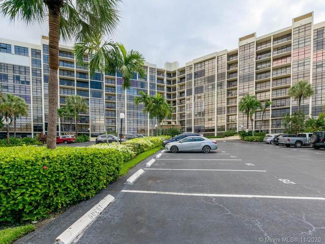 600 Parkview Dr #608, Hallandale Beach, FL 33009 (MLS #A10952501) :: Ray De Leon with One Sotheby's International Realty