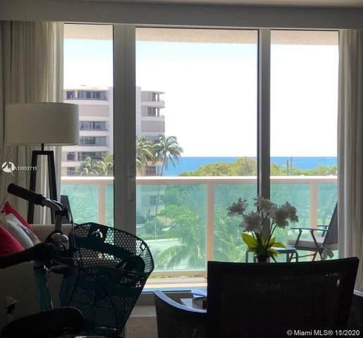 100 Bayview Dr #507, Sunny Isles Beach, FL 33160 (MLS #A10952715) :: Berkshire Hathaway HomeServices EWM Realty