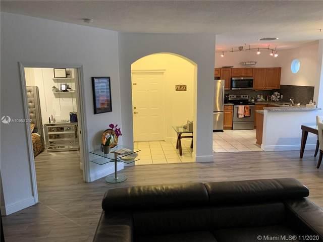 4341 SW 160th Ave #106, Miramar, FL 33027 (MLS #A10953262) :: Podium Realty Group Inc