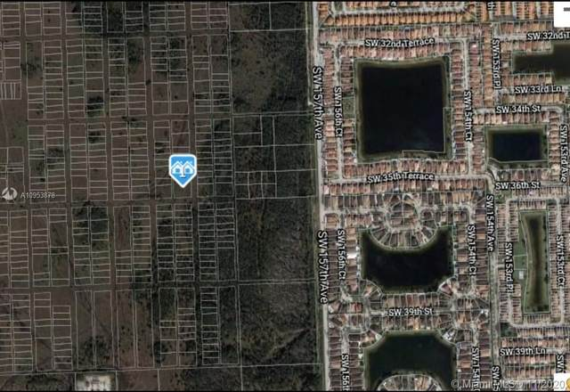 158 Ave SW 36 Street, Miami, FL 33185 (MLS #A10953878) :: The Rose Harris Group