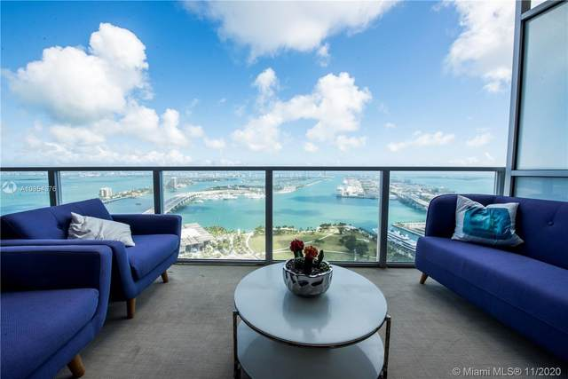 1100 Biscayne Blvd #3802, Miami, FL 33132 (MLS #A10954376) :: ONE Sotheby's International Realty