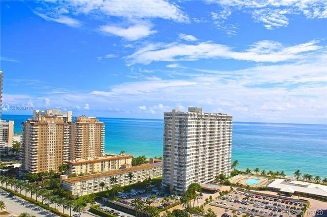 1985 S Ocean Dr 22D, Hallandale Beach, FL 33009 (MLS #A10954798) :: Ray De Leon with One Sotheby's International Realty