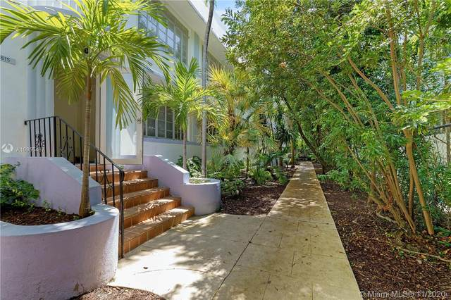 815 Lenox Ave #4, Miami Beach, FL 33139 (MLS #A10955467) :: Ray De Leon with One Sotheby's International Realty