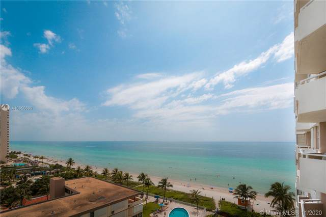1950 S Ocean Dr 9H, Hallandale Beach, FL 33009 (MLS #A10955690) :: Ray De Leon with One Sotheby's International Realty