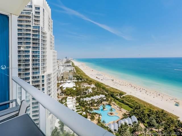 100 S Pointe Dr #2306, Miami Beach, FL 33139 (MLS #A10955703) :: Berkshire Hathaway HomeServices EWM Realty