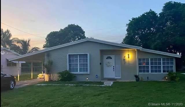 7673 Plantation Blvd, Miramar, FL 33023 (MLS #A10955751) :: Miami Villa Group