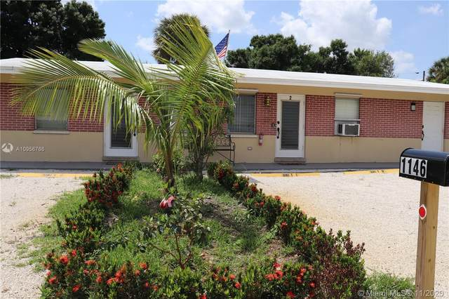 1146 SW 30th St, Fort Lauderdale, FL 33315 (MLS #A10956766) :: Albert Garcia Team