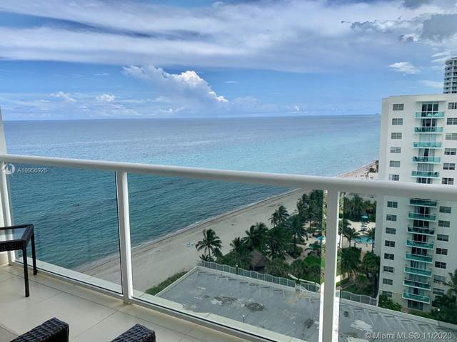 3725 S Ocean Dr #1608, Hollywood, FL 33019 (MLS #A10956925) :: Berkshire Hathaway HomeServices EWM Realty
