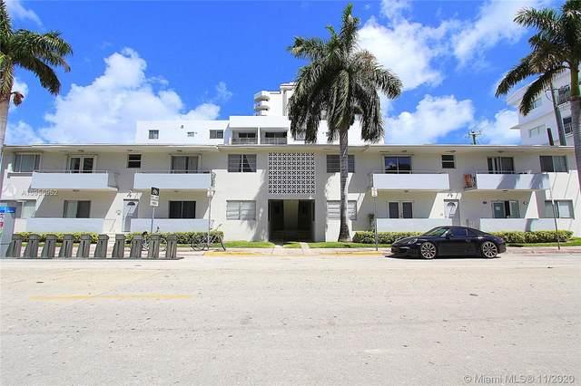 1601 Bay Rd #7, Miami Beach, FL 33139 (MLS #A10956952) :: Carlos + Ellen