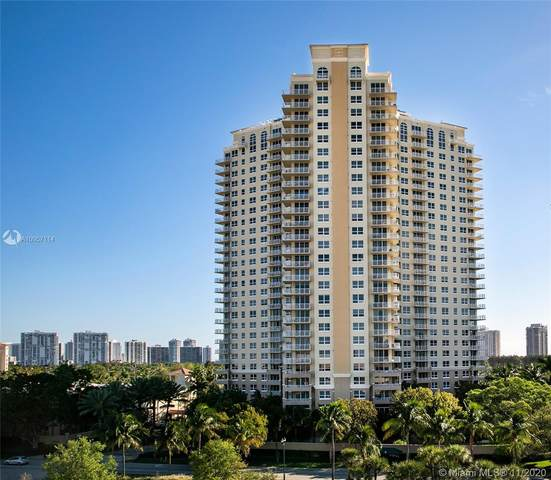 19501 W Country Club Dr #2011, Aventura, FL 33180 (MLS #A10957114) :: Albert Garcia Team
