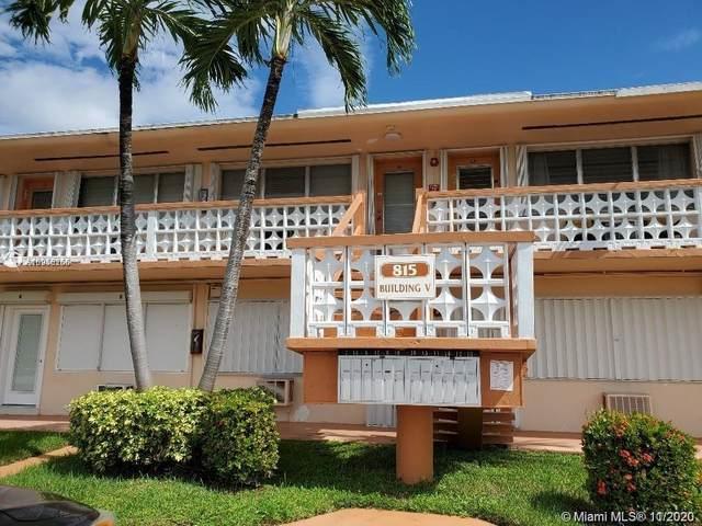 815 SW 10th Ter 2V, Hallandale Beach, FL 33009 (MLS #A10958266) :: The Riley Smith Group