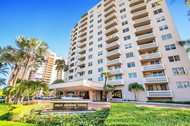 90 Edgewater Dr #318, Coral Gables, FL 33133 (MLS #A10958357) :: Patty Accorto Team