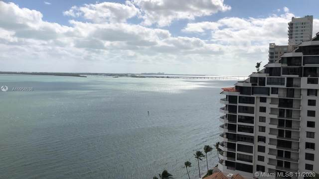 540 Brickell Key Dr #1621, Miami, FL 33131 (MLS #A10958538) :: Albert Garcia Team