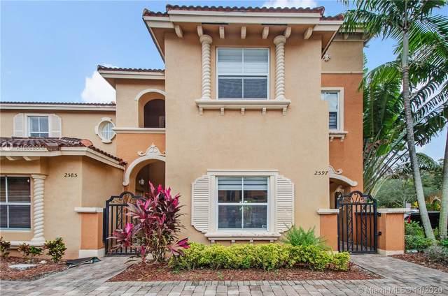 2597 SW 121st Ter #2005, Miramar, FL 33025 (MLS #A10958644) :: Berkshire Hathaway HomeServices EWM Realty