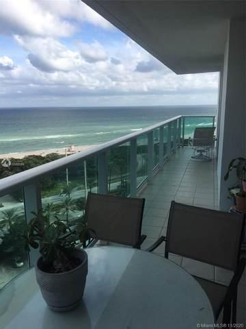 100 Bayview Dr #1515, Sunny Isles Beach, FL 33160 (MLS #A10959369) :: Berkshire Hathaway HomeServices EWM Realty