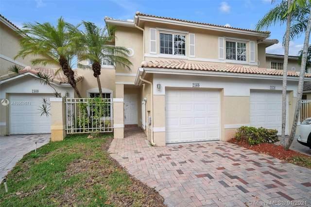 2168 NW 171st Ter #2168, Pembroke Pines, FL 33028 (MLS #A10959571) :: Green Realty Properties