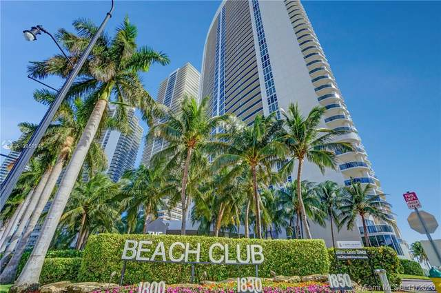 1800 S Ocean Dr #709, Hallandale Beach, FL 33009 (MLS #A10959946) :: Patty Accorto Team