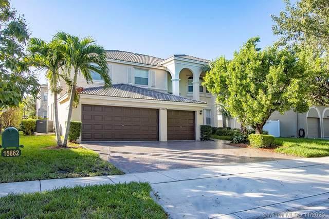 15862 SW 51st St, Miramar, FL 33027 (MLS #A10960140) :: Berkshire Hathaway HomeServices EWM Realty