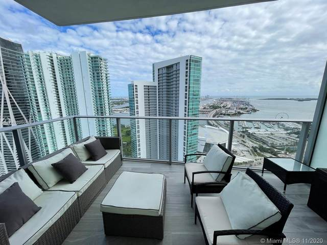 851 NE 1st Ave #4307, Miami, FL 33132 (MLS #A10960422) :: Berkshire Hathaway HomeServices EWM Realty