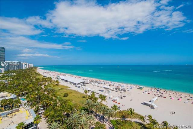 100 SE Lincoln #1548, Miami Beach, FL 33139 (MLS #A10960514) :: Berkshire Hathaway HomeServices EWM Realty