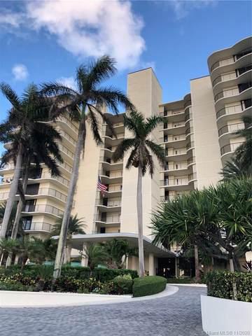 400 Beach Rd #803, Tequesta, FL 33469 (MLS #A10960581) :: Equity Advisor Team