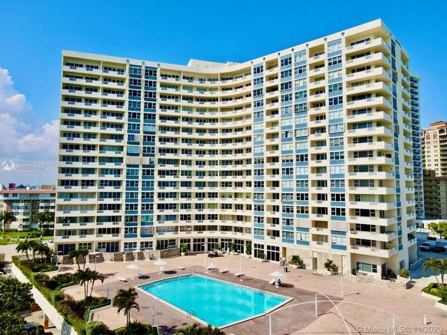 3180 S Ocean Dr #208, Hallandale Beach, FL 33009 (MLS #A10960642) :: ONE Sotheby's International Realty