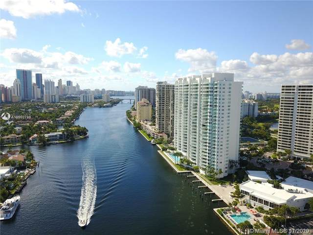 20201 E Country Club Dr #2307, Aventura, FL 33180 (MLS #A10960788) :: Ray De Leon with One Sotheby's International Realty