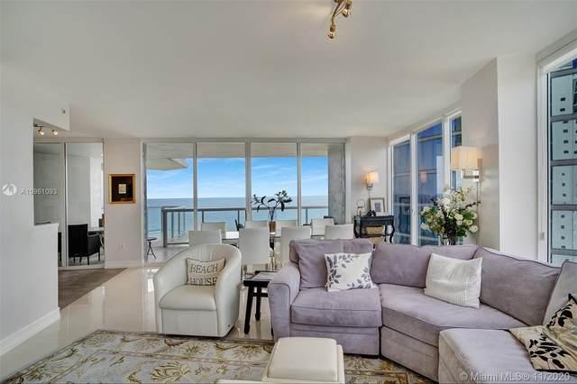 18671 Collins Ave #1703, Sunny Isles Beach, FL 33160 (MLS #A10961093) :: Berkshire Hathaway HomeServices EWM Realty