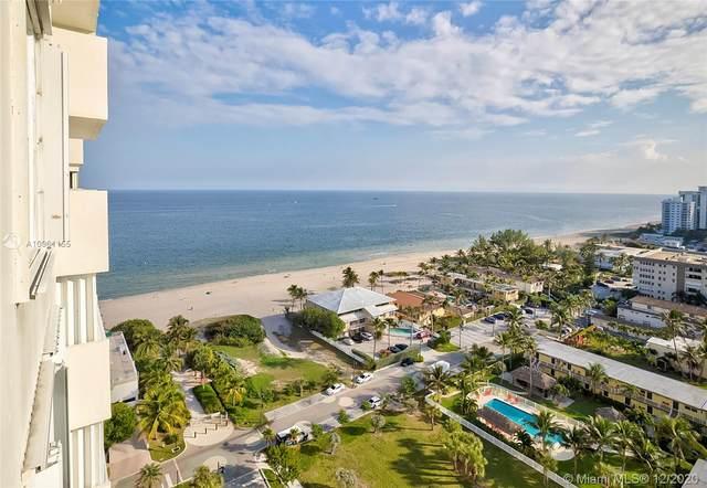 111 Briny Ave #1912, Pompano Beach, FL 33062 (MLS #A10961155) :: Berkshire Hathaway HomeServices EWM Realty