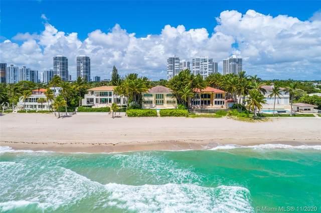 547 Ocean Blvd, Golden Beach, FL 33160 (MLS #A10961224) :: ONE Sotheby's International Realty