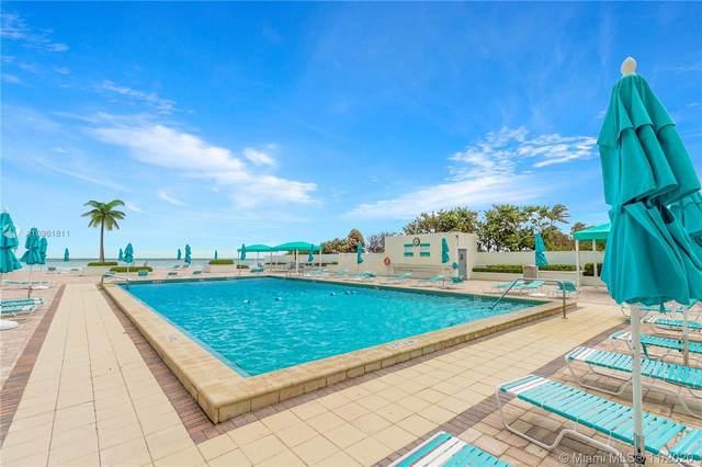 3725 S Ocean Dr #23, Hollywood, FL 33019 (MLS #A10961811) :: Miami Villa Group