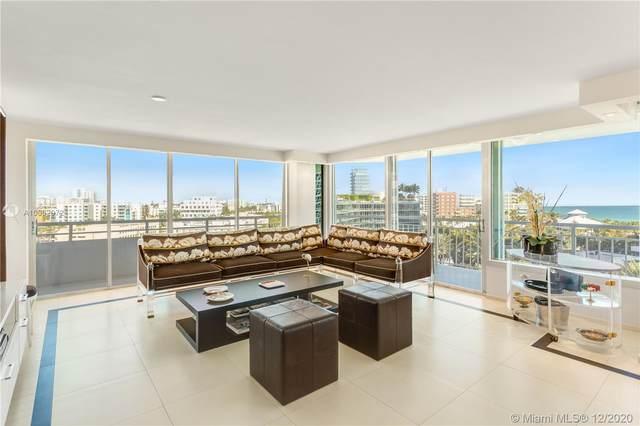 400 S Pointe Dr #810, Miami Beach, FL 33139 (MLS #A10962072) :: The Rose Harris Group
