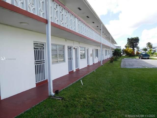122 NE 204th St #20, Miami Gardens, FL 33179 (MLS #A10962283) :: Berkshire Hathaway HomeServices EWM Realty