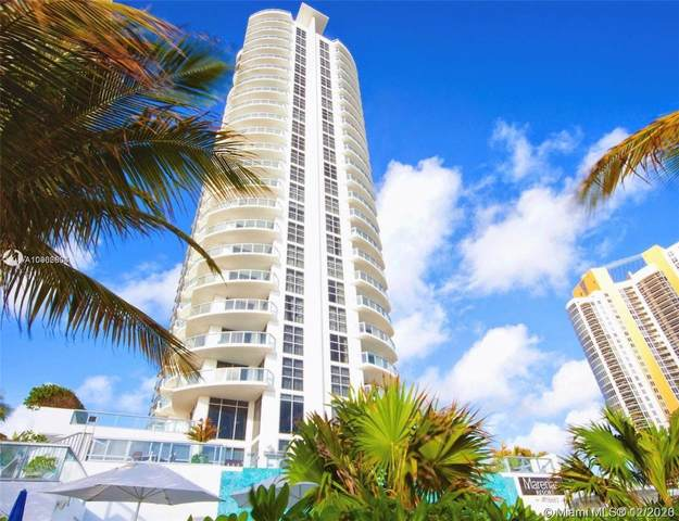 18683 Collins Ave #1406, Sunny Isles Beach, FL 33160 (MLS #A10962604) :: The Riley Smith Group