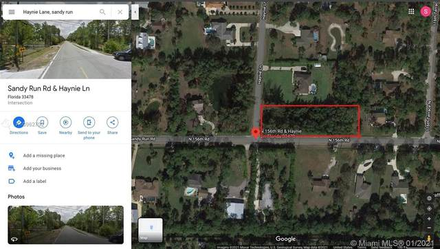 0 Haynie Lane And Sandy Run, Unincorporated Palm Beach County, FL 33478 (MLS #A10962702) :: The Riley Smith Group