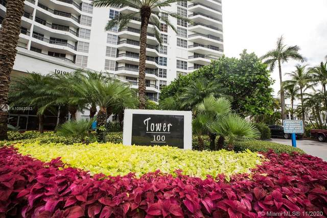 19195 Mystic Pointe Dr #808, Aventura, FL 33180 (MLS #A10963383) :: ONE Sotheby's International Realty