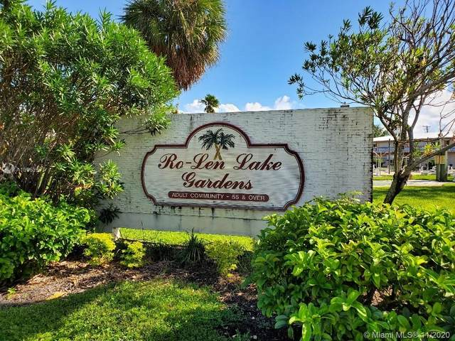 800 SW 11th Ave 11A, Hallandale Beach, FL 33009 (MLS #A10963577) :: Podium Realty Group Inc