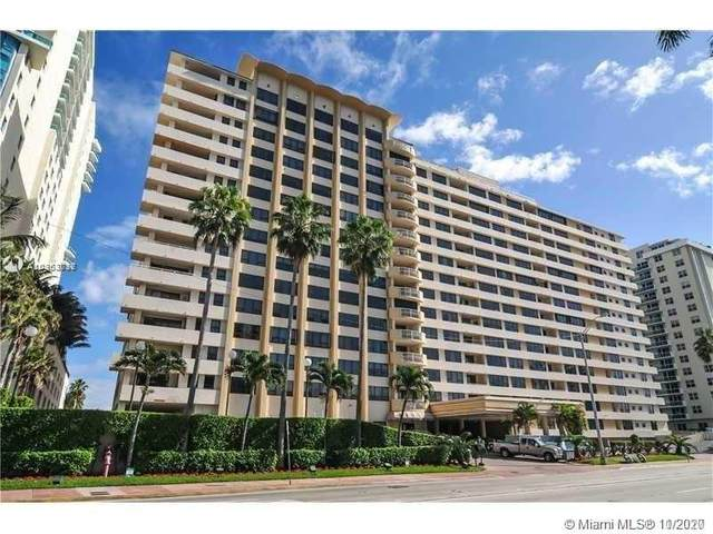 5005 Collins Ave #1202, Miami Beach, FL 33140 (MLS #A10963717) :: Green Realty Properties