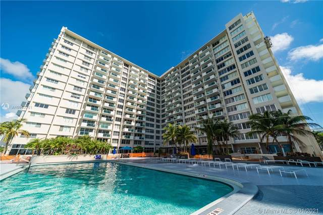 1200 E West Ave #824, Miami Beach, FL 33139 (MLS #A10963751) :: The Riley Smith Group