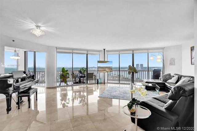 2000 Island Blvd #2107, Aventura, FL 33160 (MLS #A10963997) :: Dalton Wade Real Estate Group