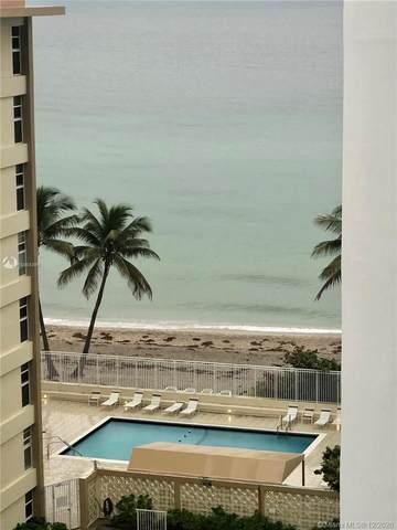 3140 S Ocean Dr #809, Hallandale Beach, FL 33009 (MLS #A10964399) :: The Riley Smith Group